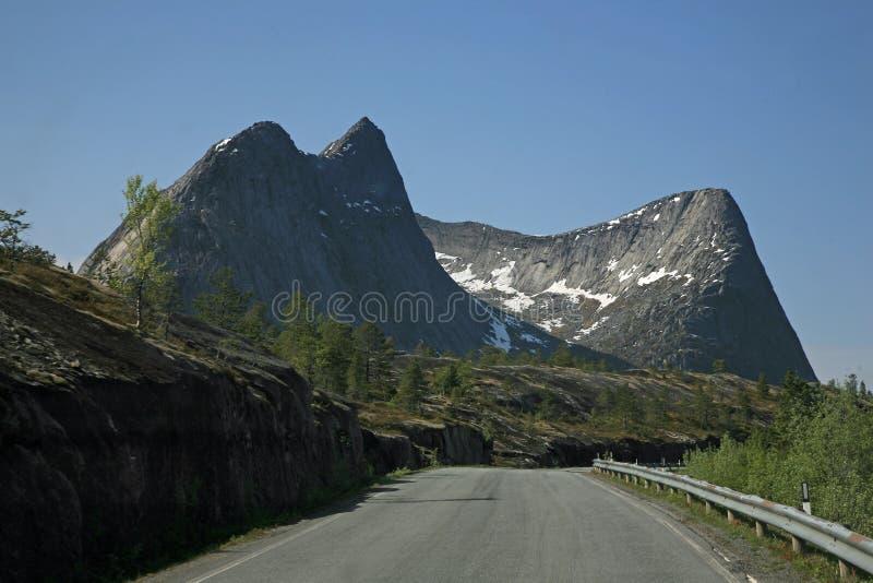 横向挪威 库存图片