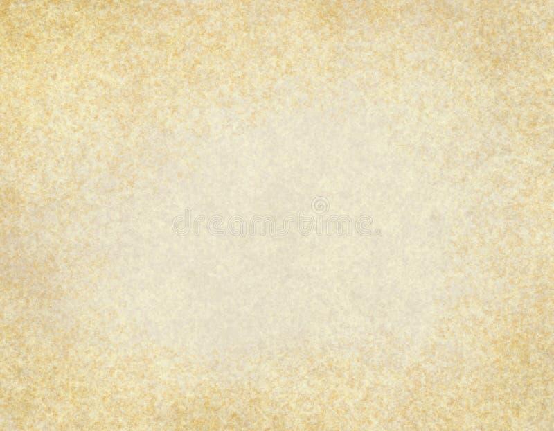 横向格式老纸羊皮纸 向量例证