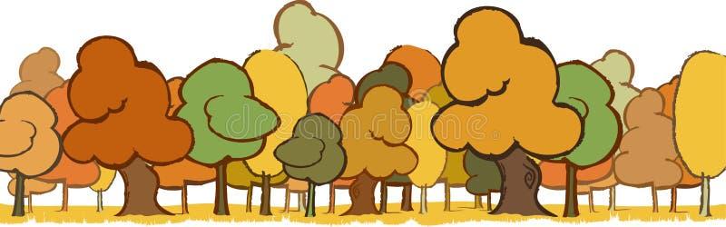 横向结构树 库存例证