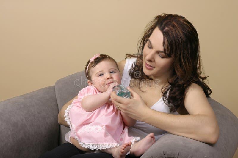 横向mothercare 免版税库存图片