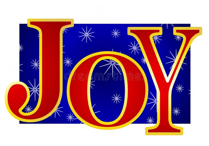 横幅圣诞节喜悦 皇族释放例证