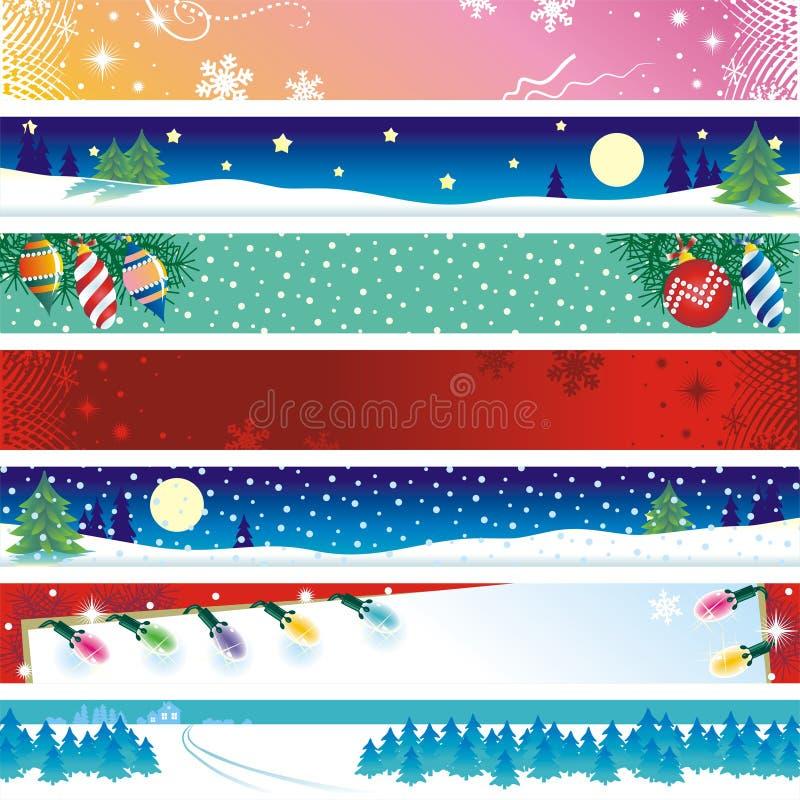 横幅圣诞节