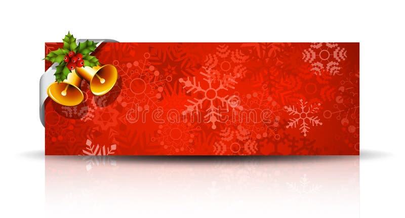 横幅圣诞节eps10例证向量 皇族释放例证
