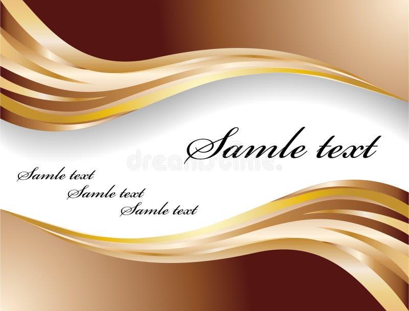 横幅巧克力向量 皇族释放例证