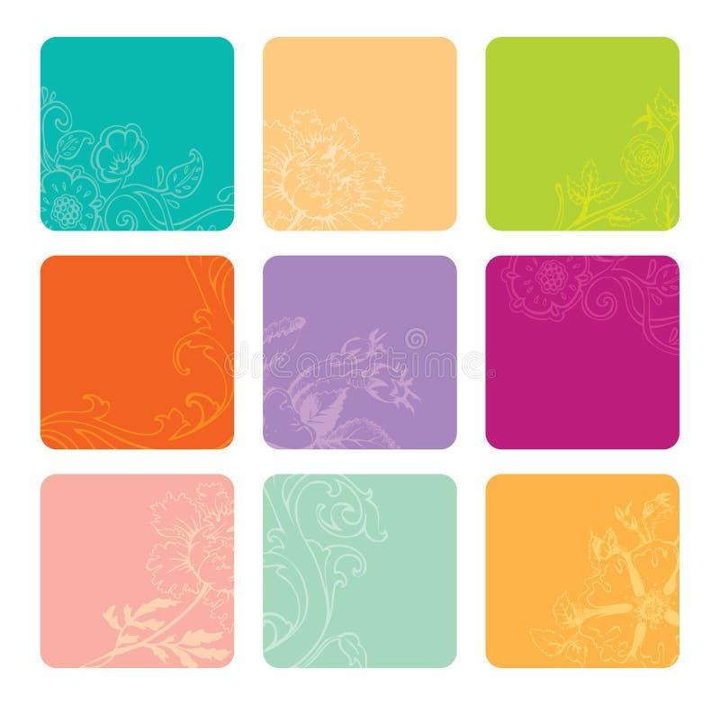 横幅彩色组向量 向量例证