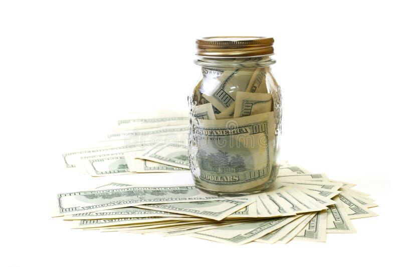 横幅提供资金的 免版税图库摄影