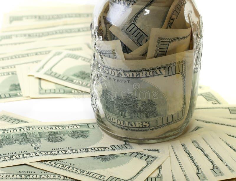 横幅提供资金的 图库摄影