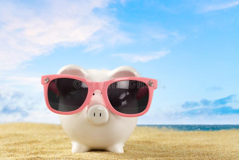 横幅提供资金的 免版税库存图片