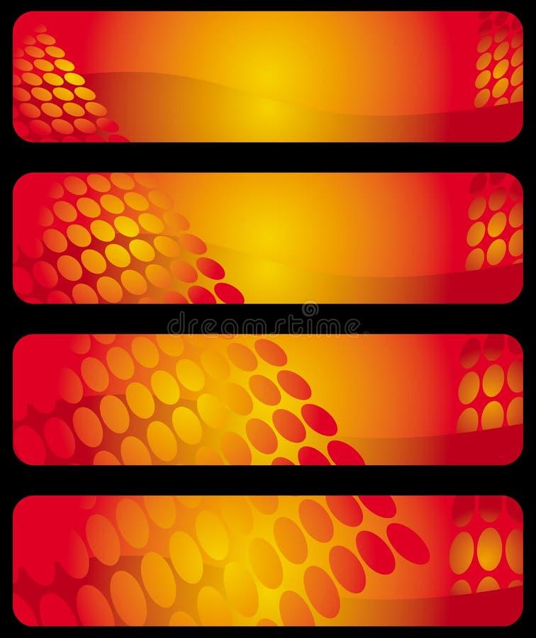 Download 横幅水平现代 向量例证. 插画 包括有 绘画, 靠山, 作用, 复制, 设计, 艺术, 样式, 红色, 圈子 - 15676862