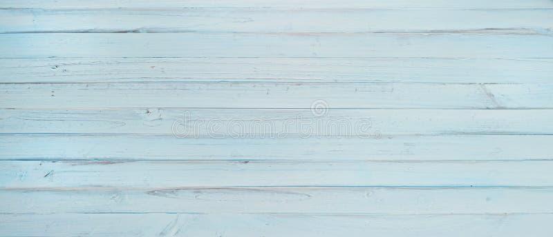 横幅蓝色木头 库存照片