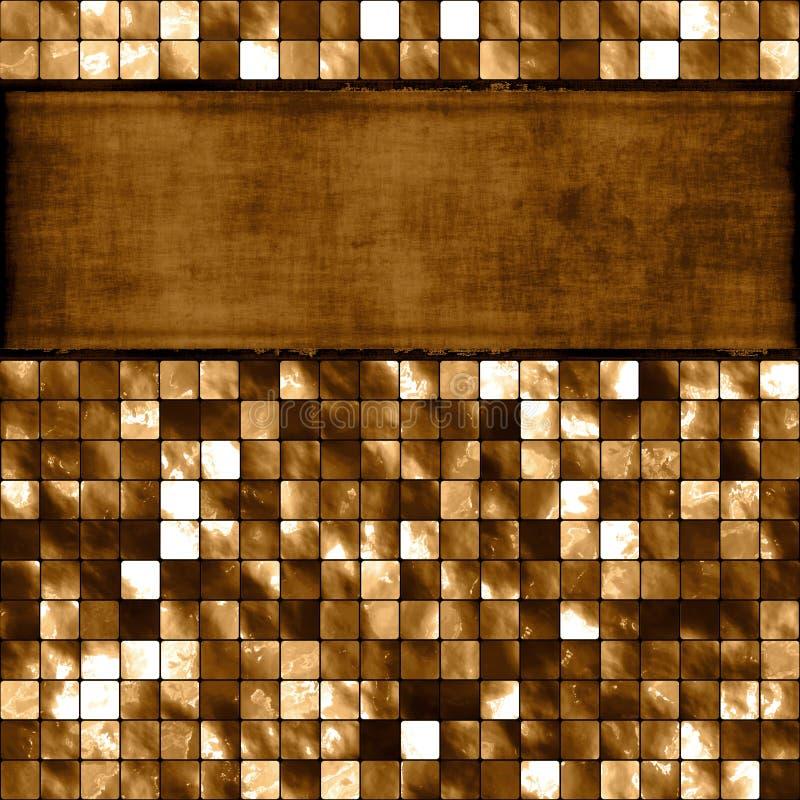 横幅锦砖 向量例证