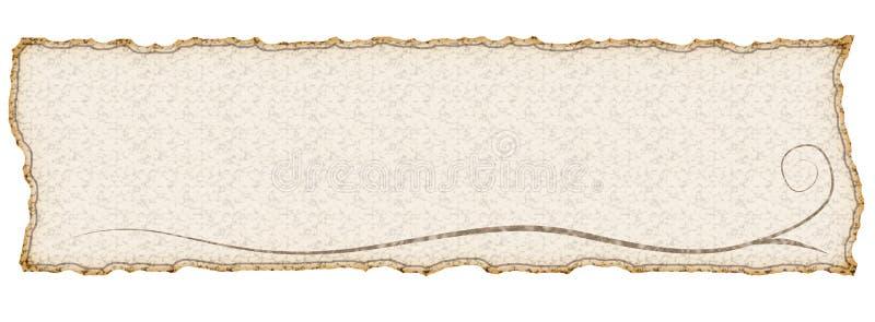 横幅 免版税图库摄影