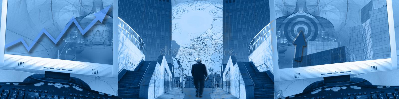 横幅upgoing宽世界的企业成就