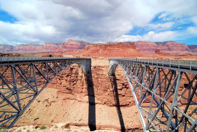 横渡的哪座桥梁 图库摄影
