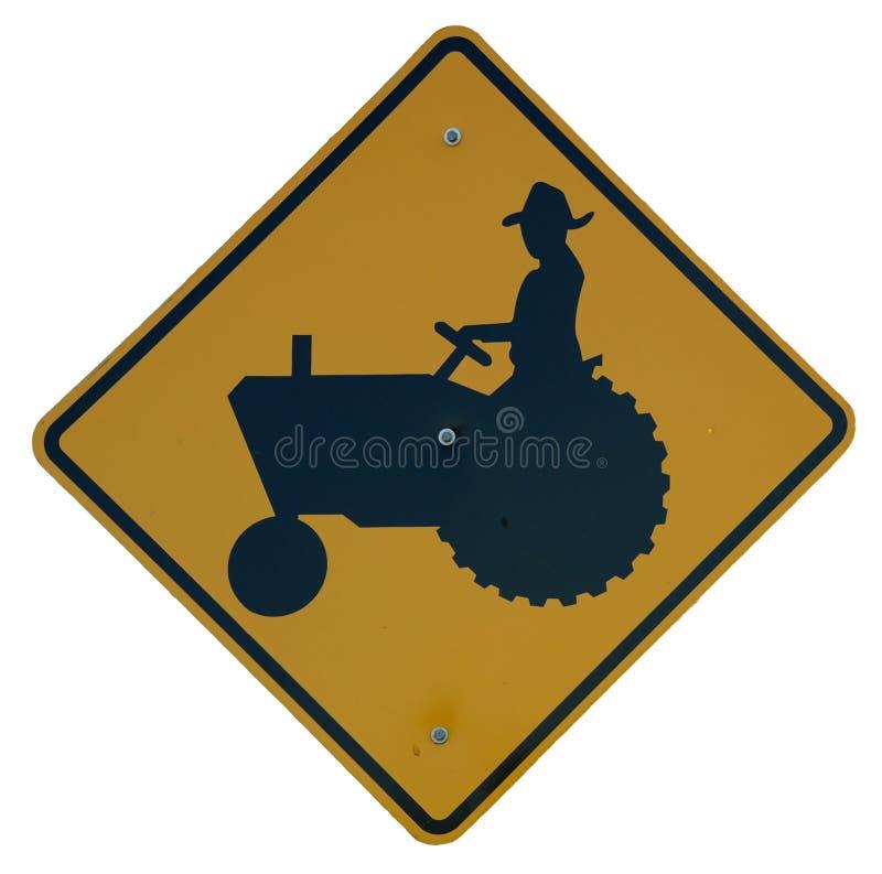横穿拖拉机 免版税库存照片