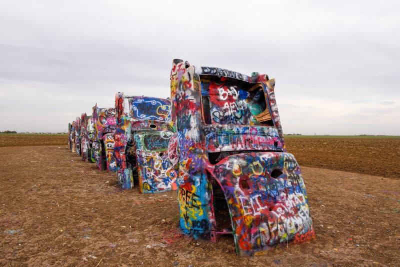 横穿美国,阿马里洛的颜色传奇 免版税库存照片
