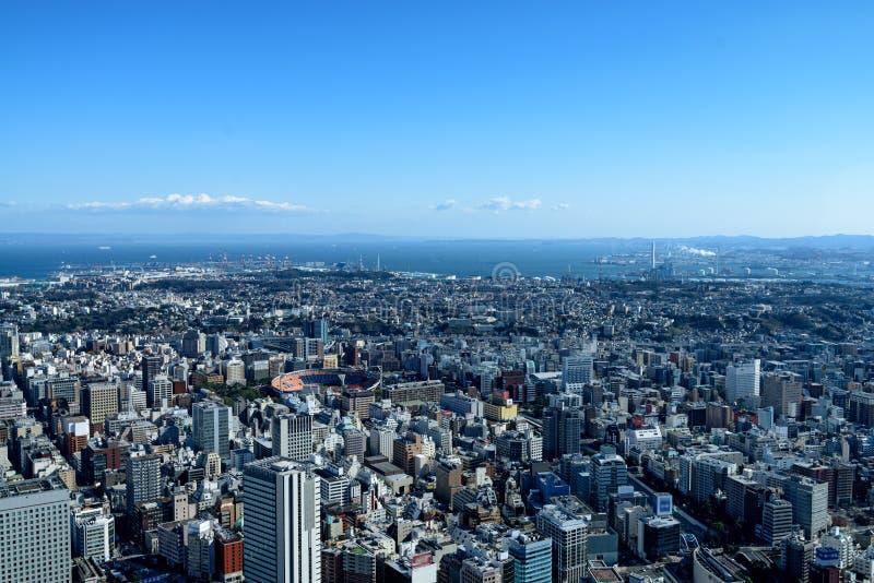 横滨Minato Mirai 21 库存图片