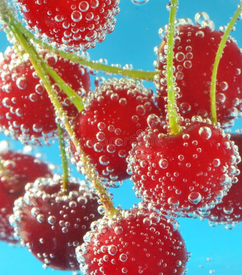 樱桃和泡影 图库摄影