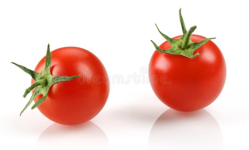 樱桃新鲜的蕃茄 免版税库存照片