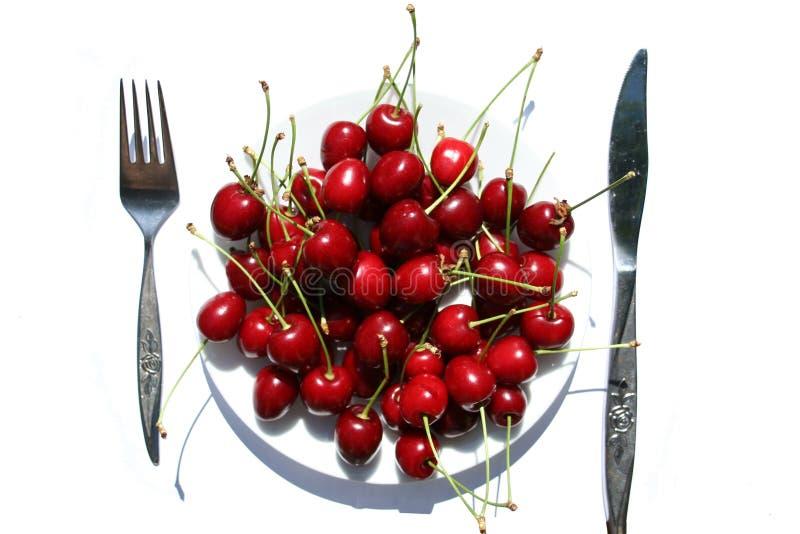 Download 樱桃牌照 库存图片. 图片 包括有 绯红色, 刀子, 自然, 红色, 健康, 新鲜, 空白, 有天花板, 晴朗 - 189609