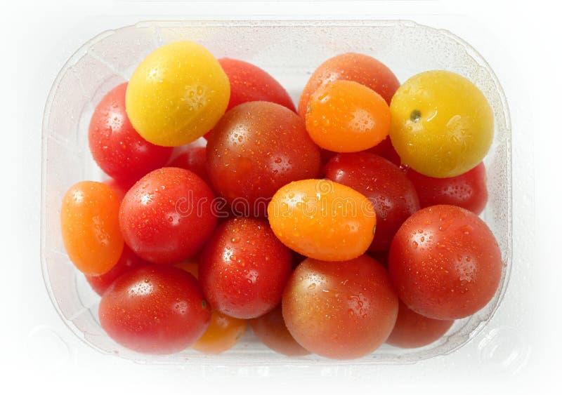 樱桃颜色小的多蕃茄变化 库存图片
