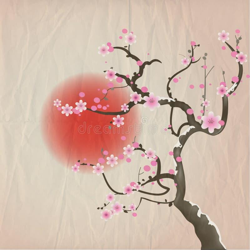樱花 库存例证