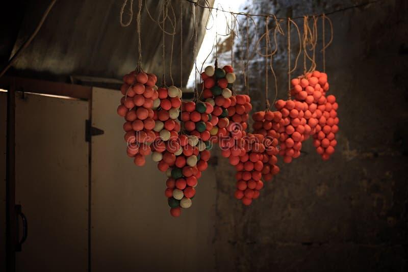 橄榄油肥皂的黎波里,黎巴嫩 免版税库存图片