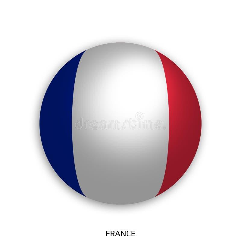 橄榄球与英国旗子的世界冠军做了在周围当足球-投下阴影和隔绝在白色 库存例证