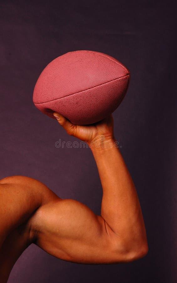 橄榄球人 图库摄影