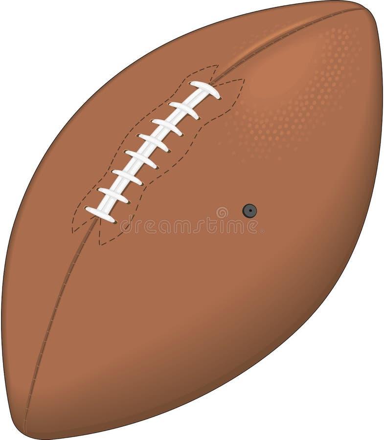 橄榄球传染媒介例证 向量例证