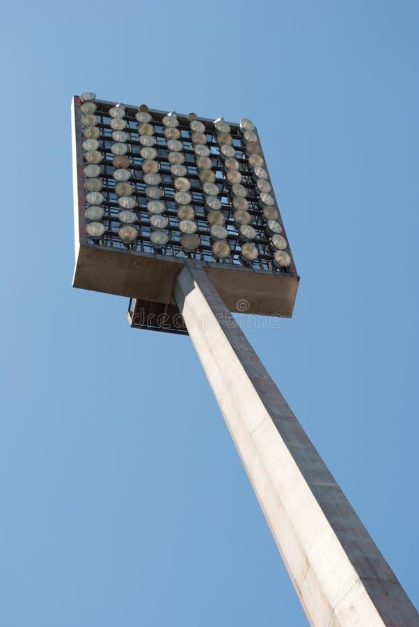 橄榄球反射器体育场 库存照片