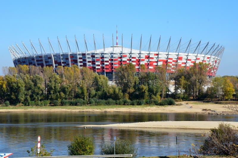 橄榄球国民体育场 免版税图库摄影