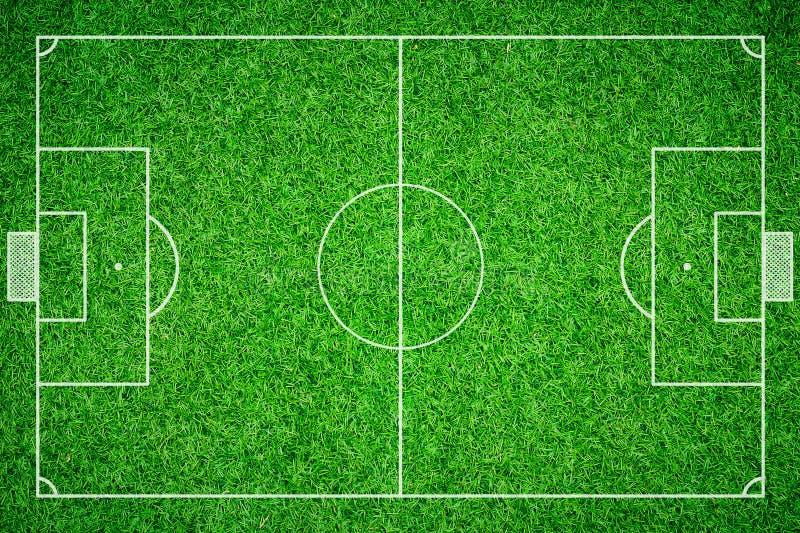 橄榄球场足球 免版税库存照片