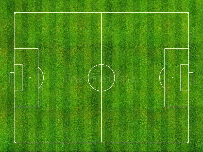 橄榄球场 向量例证