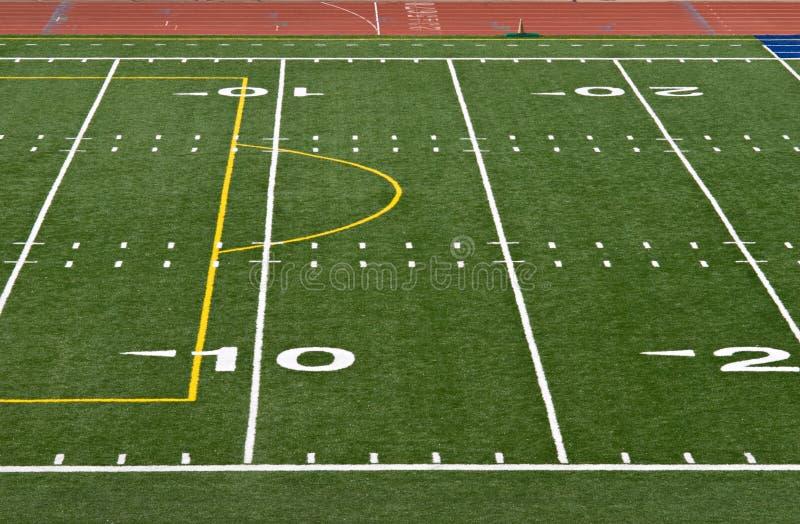 橄榄球排行围场 图库摄影