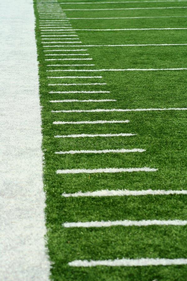 橄榄球标记围场 库存图片