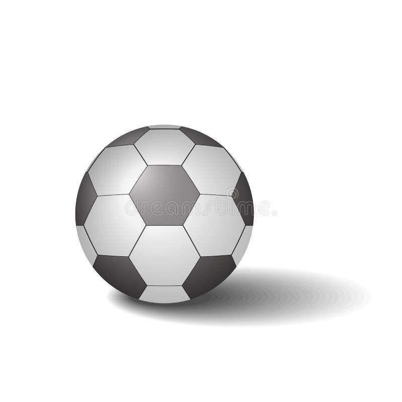 橄榄球球传染媒介例证 库存照片