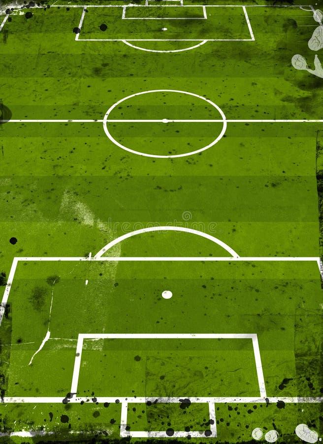 橄榄球球场 皇族释放例证