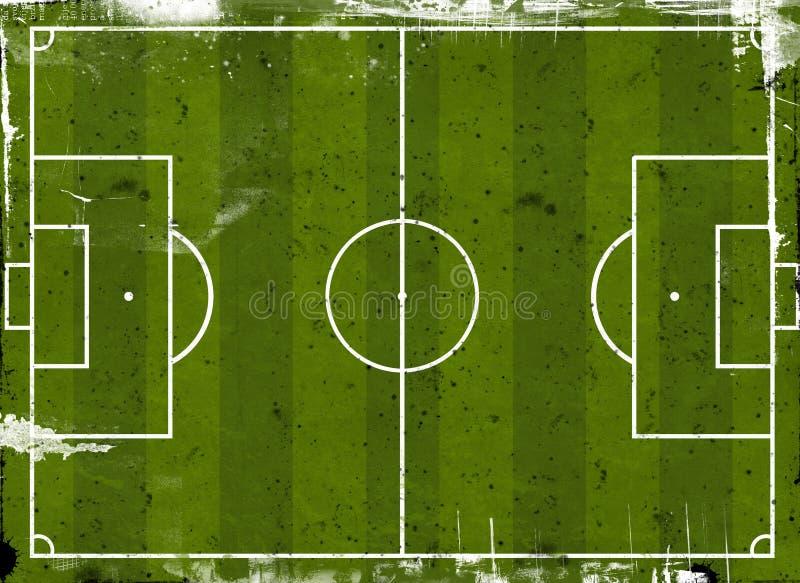 橄榄球球场 库存例证
