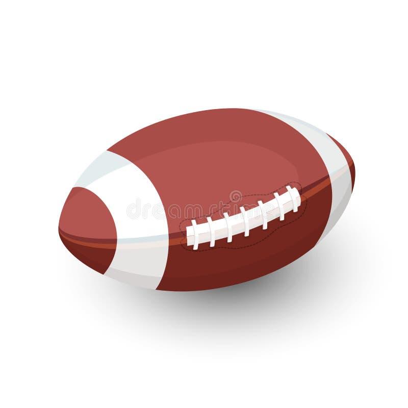 橄榄球球,劳联橄榄球 皇族释放例证