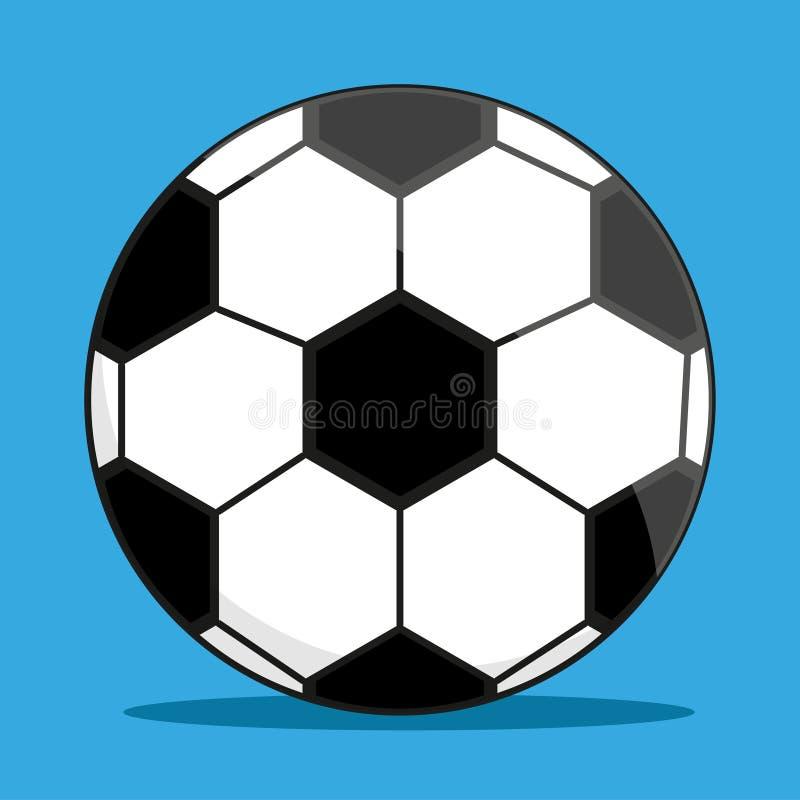 橄榄球的经典球 向量例证