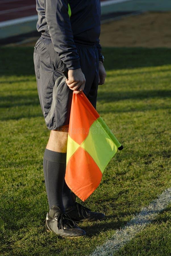 橄榄球裁判 图库摄影