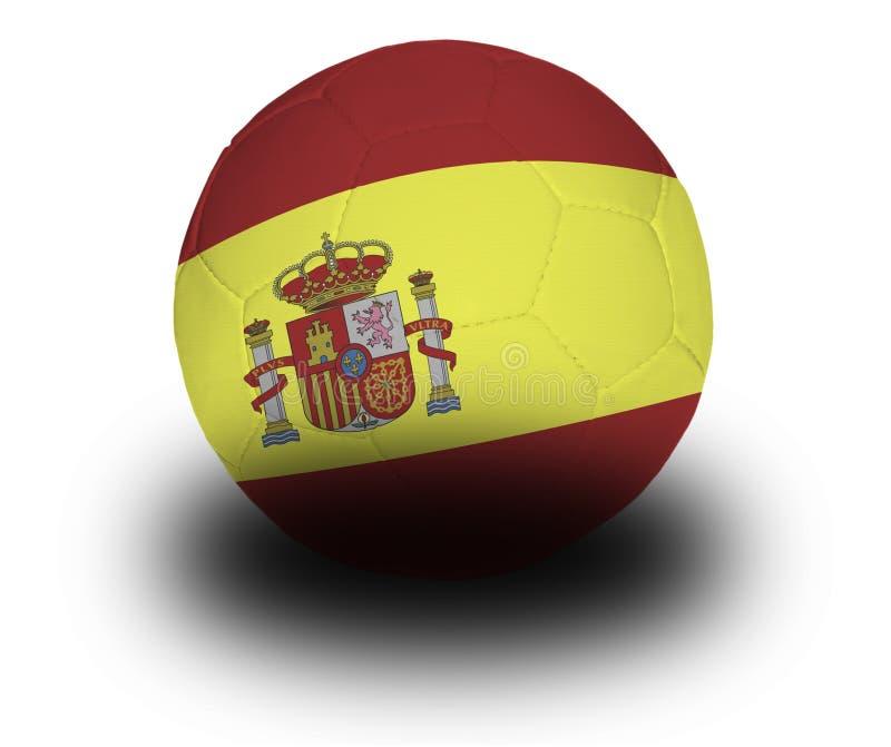 橄榄球西班牙语 皇族释放例证