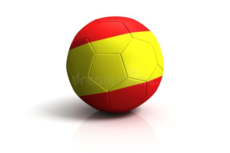 橄榄球西班牙 皇族释放例证