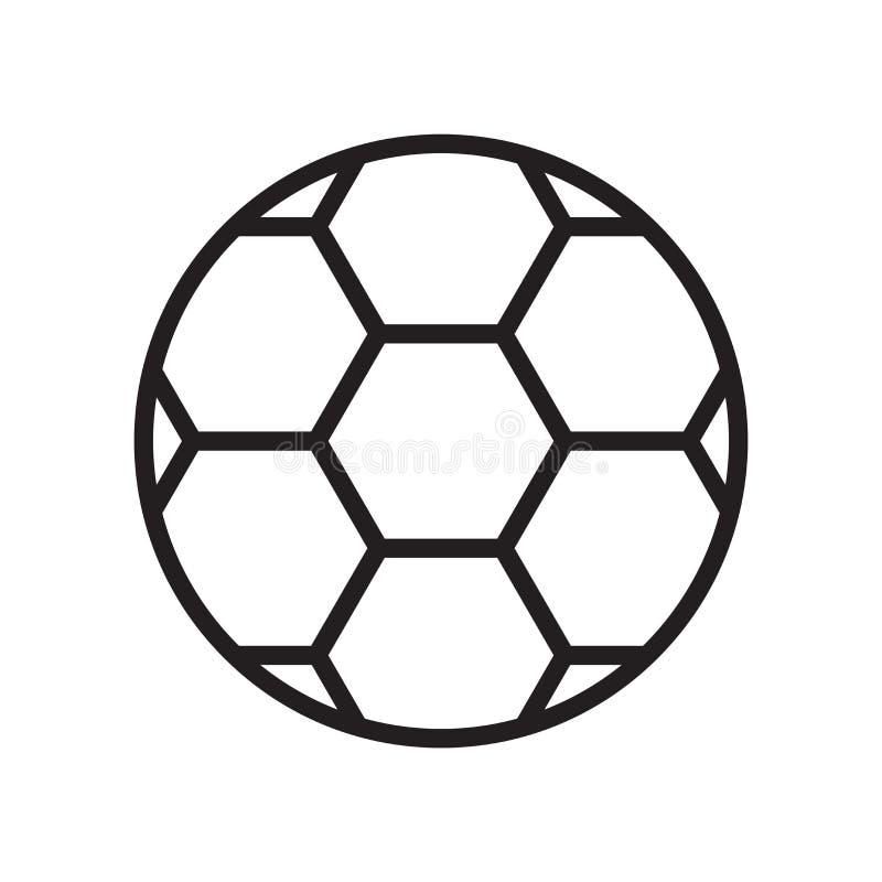 橄榄球象在白色背景和标志隔绝的传染媒介标志,橄榄球商标概念 皇族释放例证