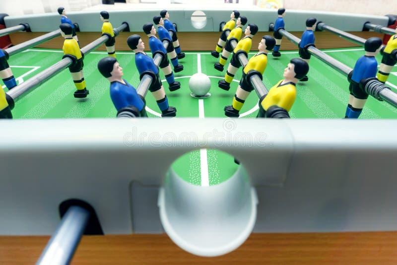 橄榄球赛表 免版税库存照片