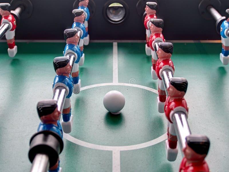 橄榄球赛表 图库摄影