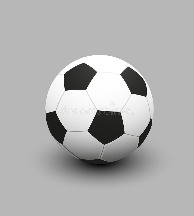 橄榄球足球的传染媒介例证 皇族释放例证