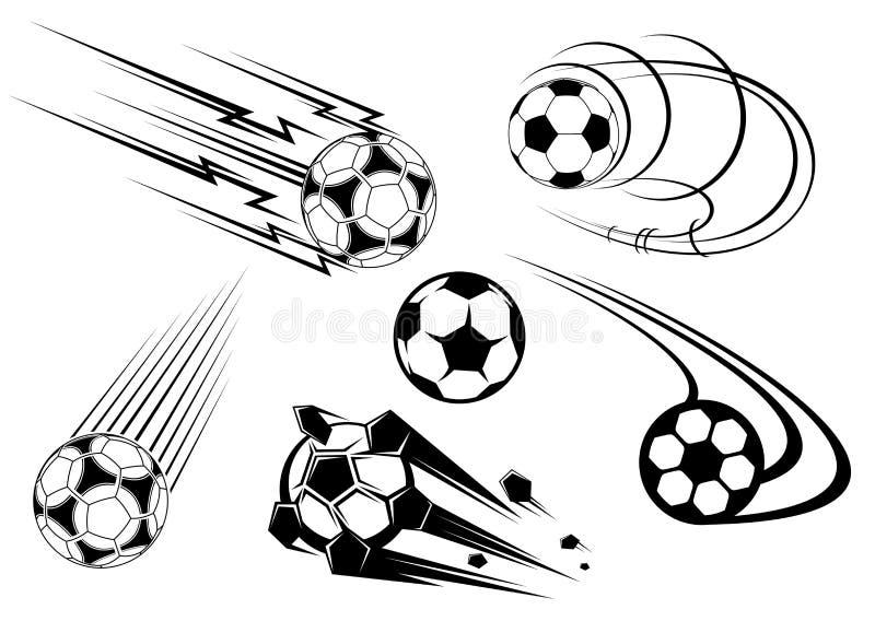 橄榄球足球符号 向量例证