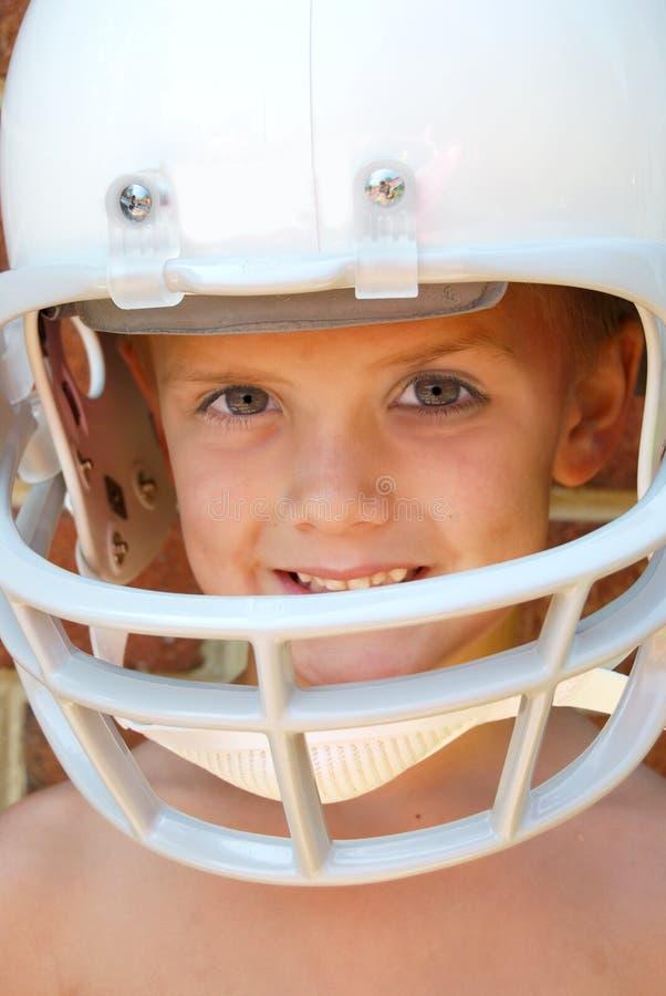 橄榄球青年时期 库存照片